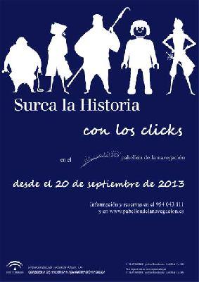 Exposición: Surca la historia con clicks en Pabellón Navegación