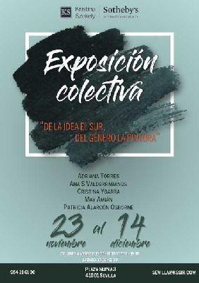 Exposición: De la idea el sur, del género la pintura en Sevilla 2018