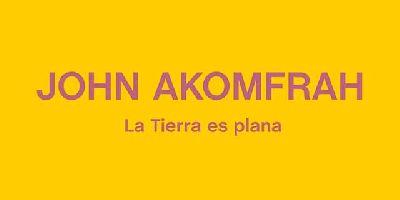 Cartel de la exposición John Akomfrah. La tierra es plana en el CAAC de Sevilla