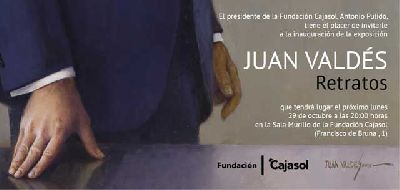 Exposición: Juan Valdés. Retratos en Cajasol Sevilla