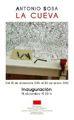 Exposición: La cueva de Antonio Sosa en Galería Cavecanem de Sevilla