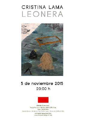 Exposición: Leonera de Cristina Lama en Galería Cavecanem de Sevilla