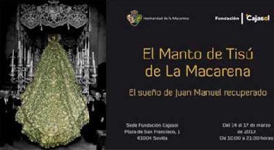 Exposición: El Manto de la Macarena recuperado