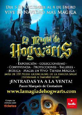 Exposición: La Magia de Hogwarts en Sevilla