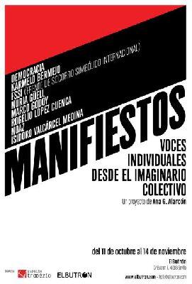 Exposición: Manifiesto en la galería El Butrón Sevilla