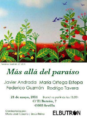 Exposición: Más allá del paraiso en El Butrón Sevilla