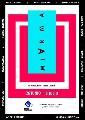 Cartel de la exposición MiArma