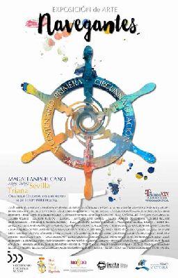 Cartel de la exposición temporal Navegantes