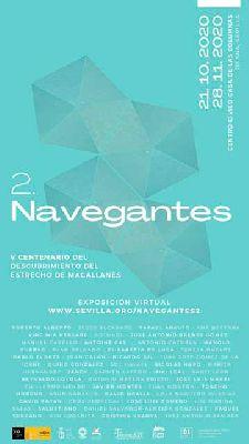 Cartel de la exposición temporal Navegantes 2