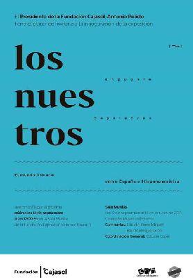 Exposición: Los Nuestros. Un puente de palabras en Cajasol Sevilla