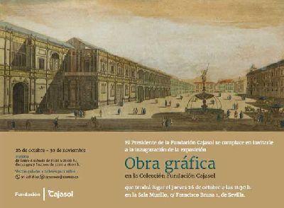 Exposición: Obra gráfica en la colección Fundación Cajasol Sevilla