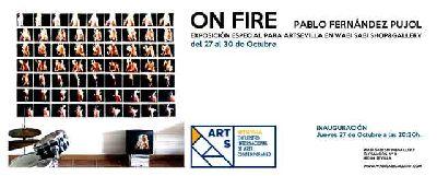 Exposición: On fire en Wabi Sabi Sevilla