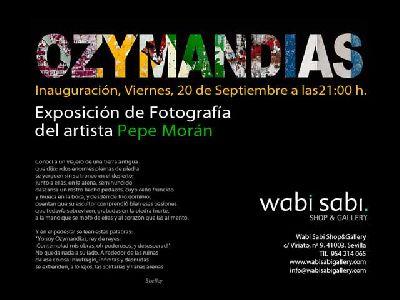 Exposición: Ozymandias en Wabi Sabi Sevilla