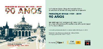 Cartel de la exposición Pabellón de Sevilla, 1929 - 2019. 90 años