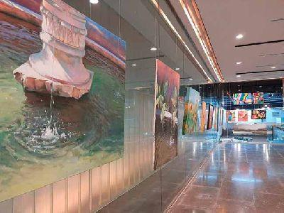 Foto promocional de la exposición Paseo de Arte de Triana en el Antiquarium Sevilla 2021
