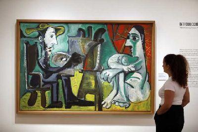 Imagen de la exposición Pablo Picasso y Joaquín Peinado en el Centro Fundación Unicaja de Sevilla