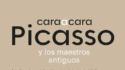 Cartel de la exposición Cara a cara. Picasso y los maestros antiguos