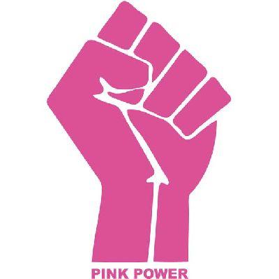Cartel de la exposición Pink Power de Verónica Ruth Frías en el Espacio Turina de Sevilla