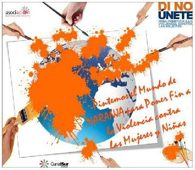 Exposición: Pinta el mundo de naranja en Canal Sur Sevilla