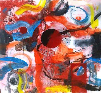 Exposición: Pinturas de Rafael Cerdá en el Espacio 1de7 de Sevilla