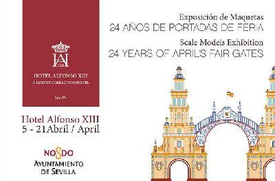 Exposición: portadas de la Feria de Sevilla en el Hotel Alfonso XIII