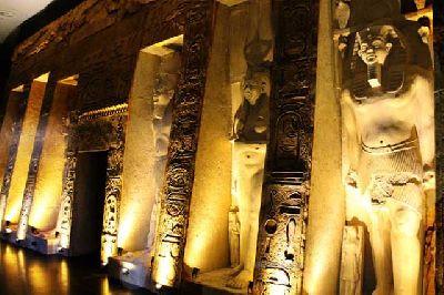 Exposición: Ramsés, rey de reyes en el Pabellón de la Navegación de Sevilla