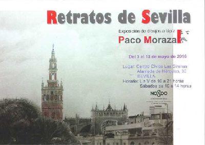 Exposición: Retratos de Sevilla de Paco Moraza en Las Sirenas Sevilla