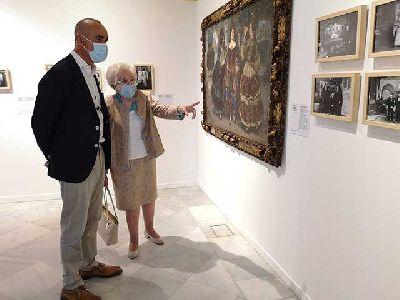 Foto de la inauguración de la exposición El taller del artista