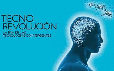 Cartel de la exposición Tecno Revolución en CaixaForum Sevilla