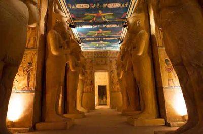 Exposición: El tesoro de los faraones en el Pabellón Navegación