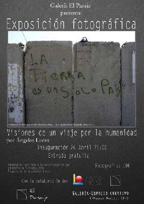 Exposición: La tierra es un solo país (fotografía solidaria)