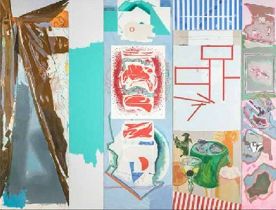 Imagen de la exposición TRÍPLEX - Luis Gordillo, Miki Leal y Rubén Guerrero