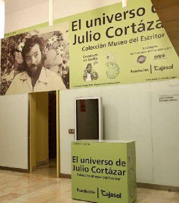 Exposición: El universo de Julio Cortázar en Cajasol Sevilla