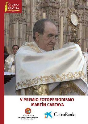 Cartel de la exposición V Premio de Fotoperiodismo Martín Cartaya
