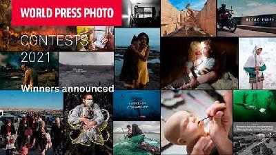 Cartel de los Ganadores de World Press Photo 2021