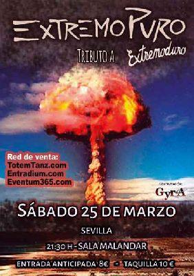 Concierto: ExtremoPuro (tributo a Extremoduro) en Malandar Sevilla