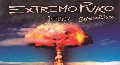 Imagen promocional de ExtremoPuro (tributo a Extremoduro)