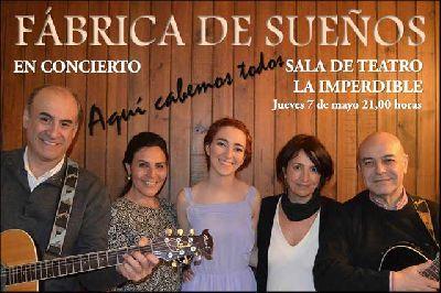 Concierto: Fábrica de sueños en La Imperdible de Sevilla