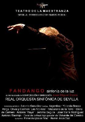 Flamenco: Fandango, Sinfonía de la Luz en el Teatro de la Maestranza de Sevilla