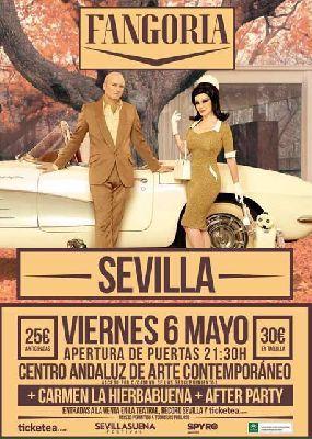Concierto: Fangoria en el CAAC de Sevilla
