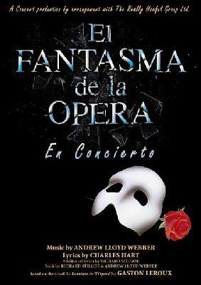 El fantasma de la ópera en concierto en Fibes Sevilla