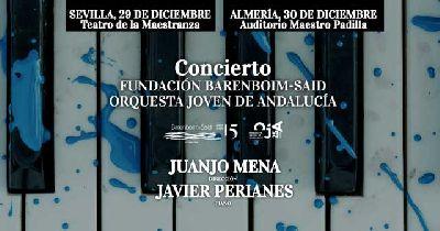 Concierto: orquesta FBS y OJA en el Teatro de la Maestranza de Sevilla 2018