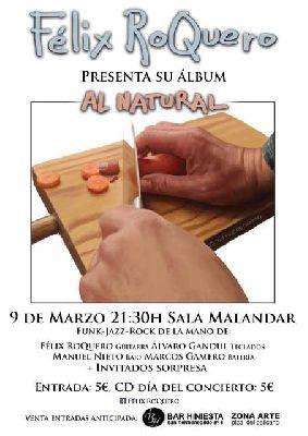 Concierto: Félix Roquero en Malandar Sevilla