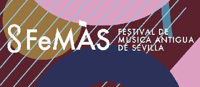 Cartel de la XXXVI edición del Festival de Música Antigua de Sevilla FeMÁS 2019