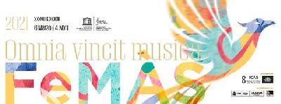 Cartel de la XXXVII edición del Festival de Música Antigua de Sevilla FeMÁS 2021