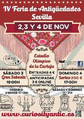 IV Feria de Antigüedades en el Estadio de la Cartuja de Sevilla