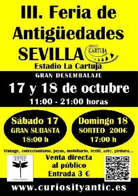 III Feria de Antigüedades en el Estadio de la Cartuja de Sevilla
