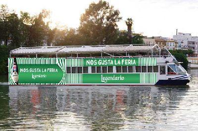 Recorridos en barco hasta la Feria de Sevilla 2016