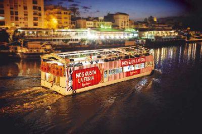 Recorridos en barco hasta la Feria de Sevilla 2018