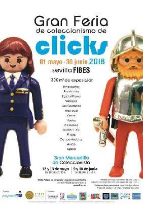 Feria de coleccionismo de clicks en Fibes Sevilla 2018